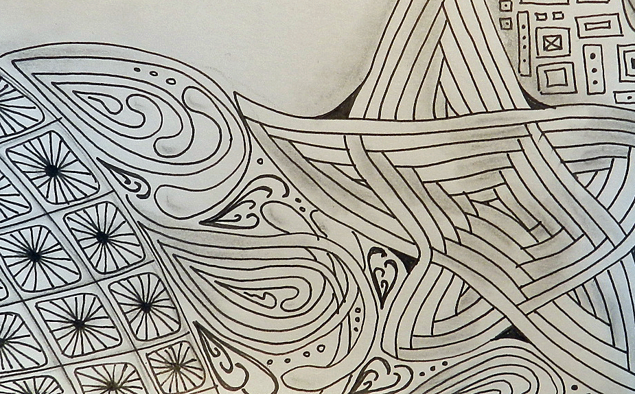 Straight Line Designs In Art : Straight line art patterns
